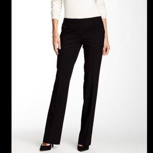 Amanda & Chelsea black straight leg dress pants